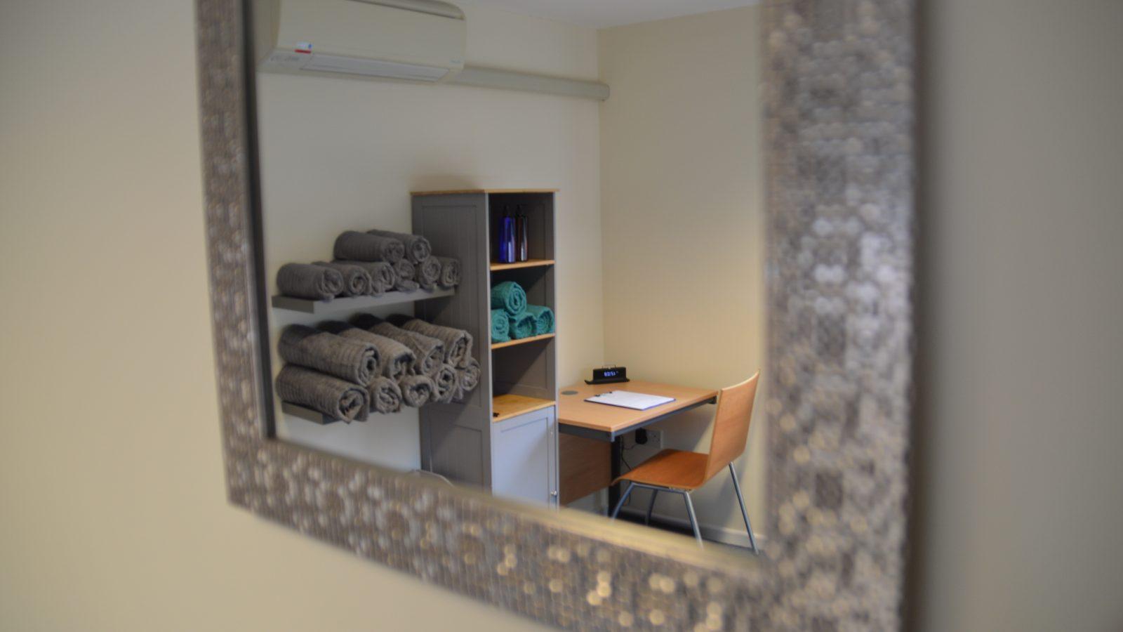 Sports massage treatment room image