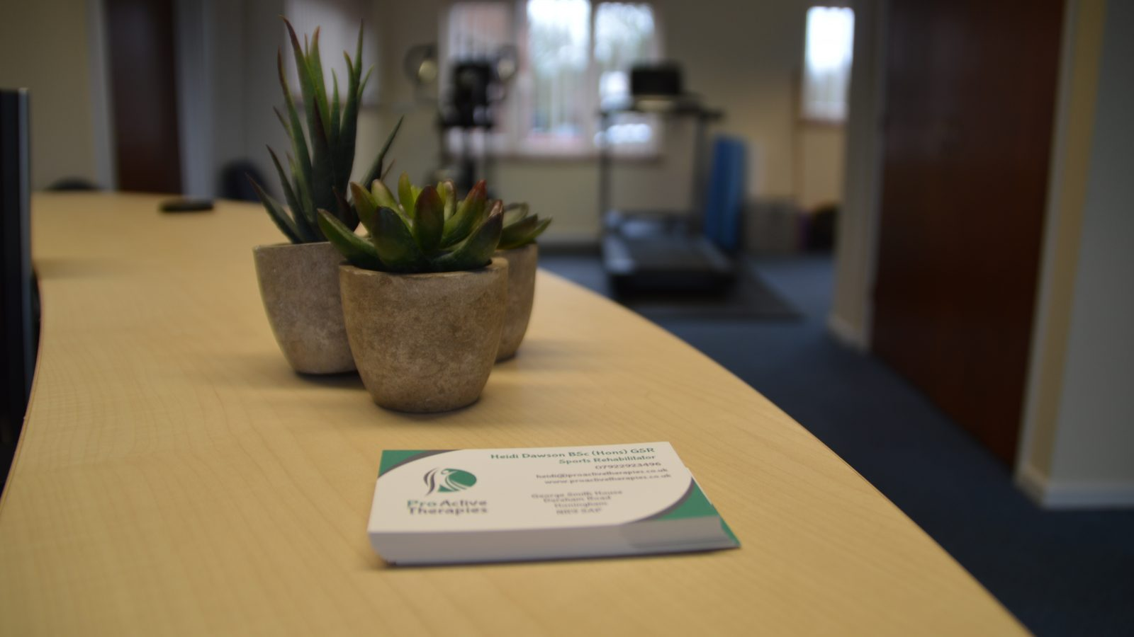 ProActive Therapies clinic offering sports massage and injury rehab