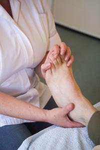 Reflexology treatments at ProActive Therapies, Honingham, near Dereham Norfolk